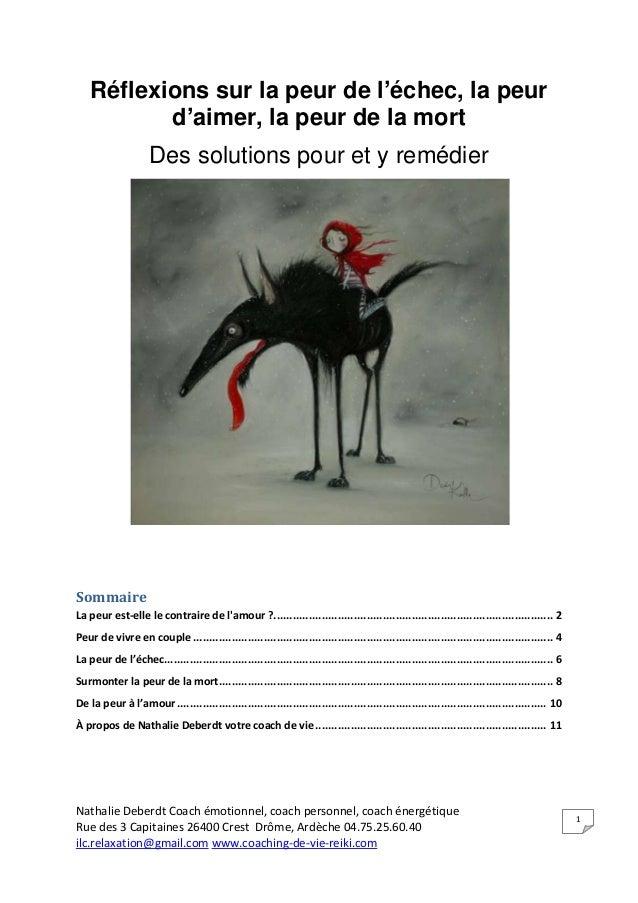 Nathalie Deberdt Coach émotionnel, coach personnel, coach énergétique Rue des 3 Capitaines 26400 Crest Drôme, Ardèche 04.7...