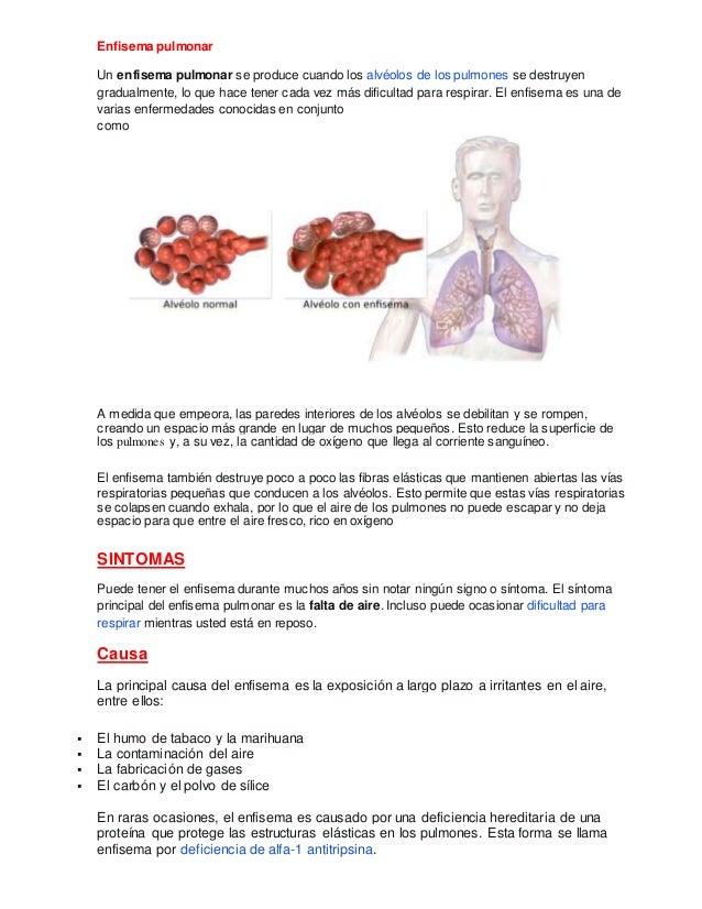 Enfisema pulmonar,abceso pulmonar .derrame plebural