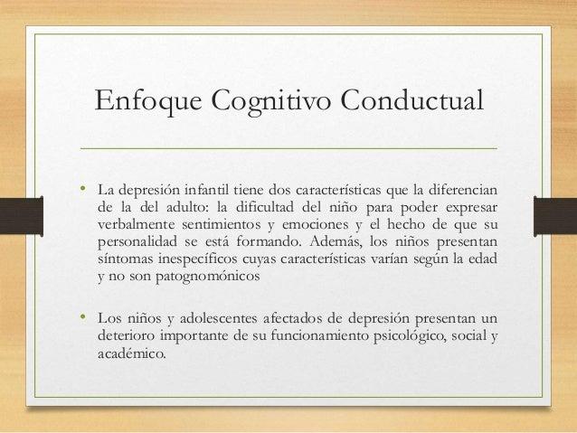 Enfoque cognitivo depresion en niños svp Slide 3