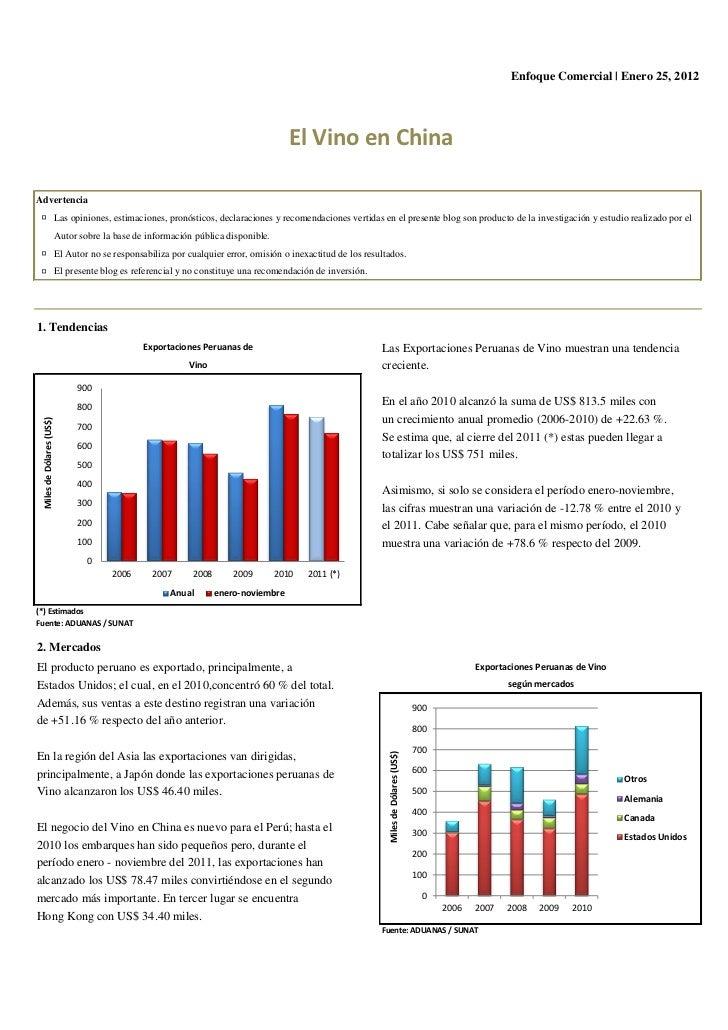 Enfoque Comercial | Enero 25, 2012                                                                                      El...