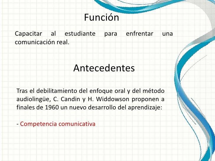 Enfoque comunicativo.pptf Slide 3