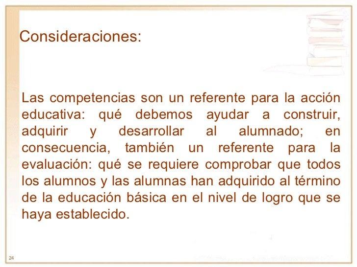 Las competencias son un referente para la acción educativa: qué debemos ayudar a construir, adquirir y desarrollar al alum...
