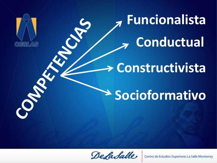 COMPETENCIAS<br /><ul><li>Ayuda a visualizar un problema, determinar los conocimientos pertinentes para resolverlo, reorga...