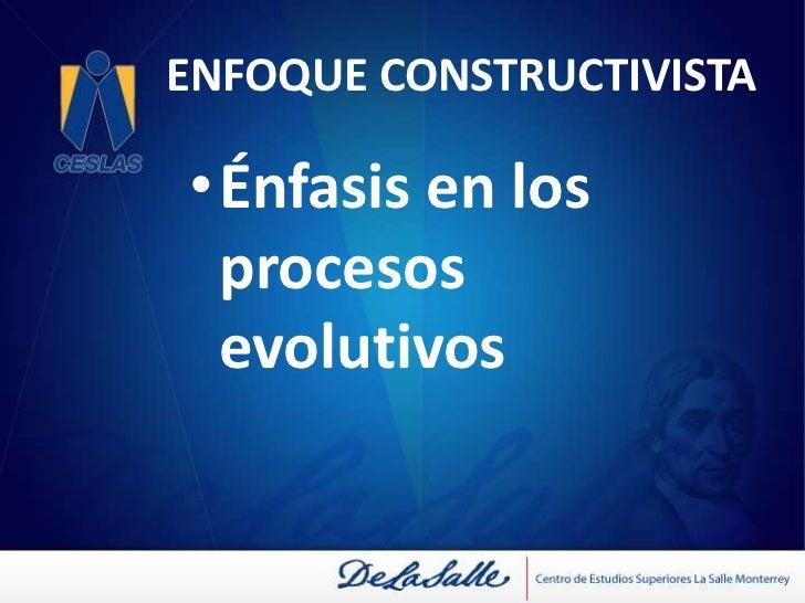ENFOQUE CONDUCTUAL<br />Descripción de las competencias con base a las dinámicas de la organización<br />