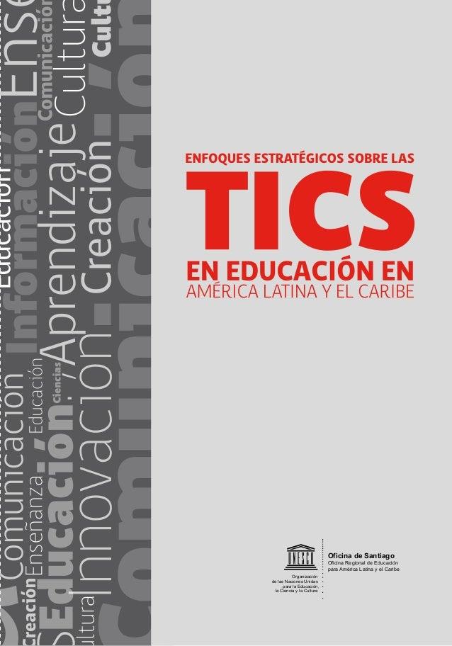 Oficina de Santiago Oficina Regional de Educación para América Latina y el Caribe Organización de las Naciones Unidas para...