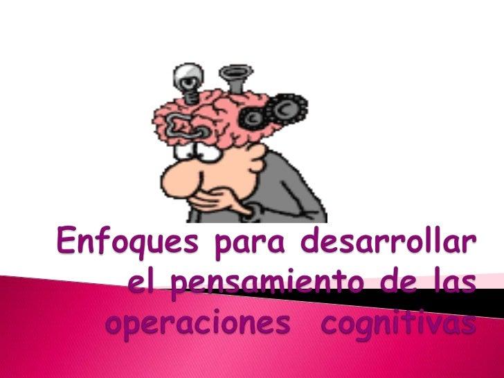 Se centran en la enseñanza de determinados          procesos o habilidades.Pretende reforzar las operaciones, partiendodel...