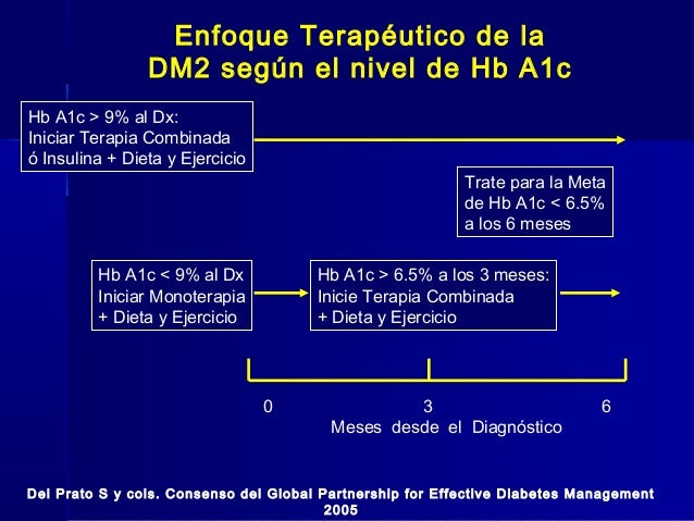 Enfoque terapéutico actual de la diabetes mellitus tipo2