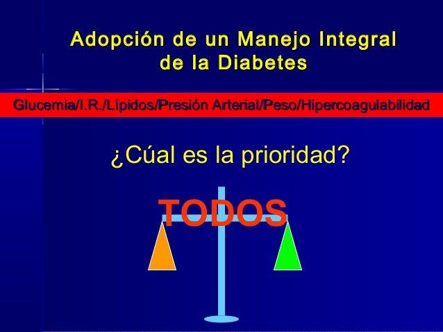 Enfoque terapéutico actual de la diabetes mellitus tipo2