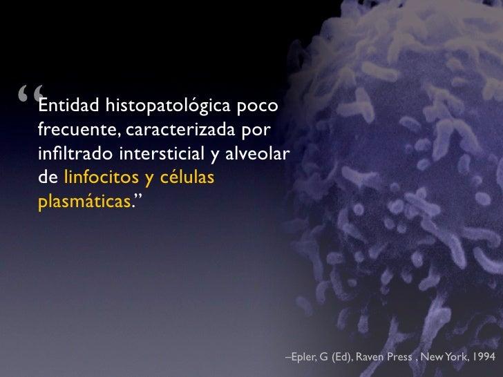 Neumonitis Criptogénica Organizada