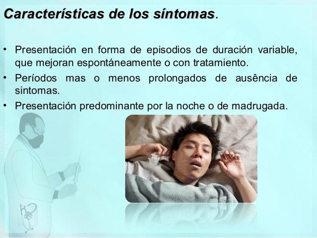Manejo odontológico del paciente asmático • • • • •  Conocer la estabilidad del proceso: frecuencia de las crisis y número...