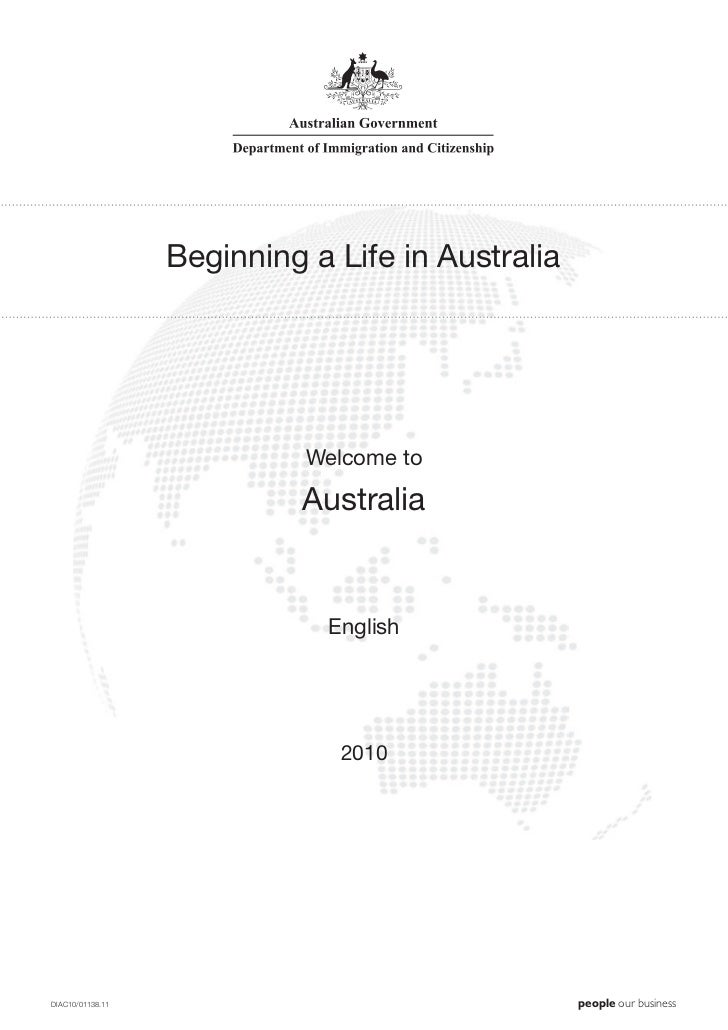 Beginning a Life in Australia                            Welcome to                            Australia                  ...