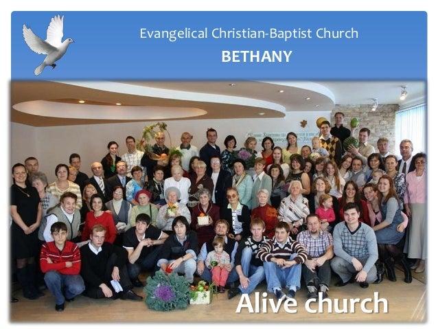 Alive churchEvangelical Christian-Baptist ChurchBETHANY