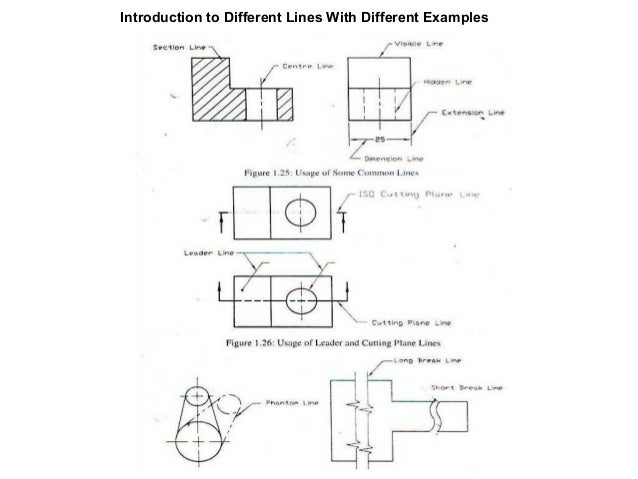 Drawing Lines In Pdf : Basic mechanical engineering drawing