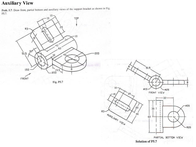 mechanical engineering drawing basics pdf