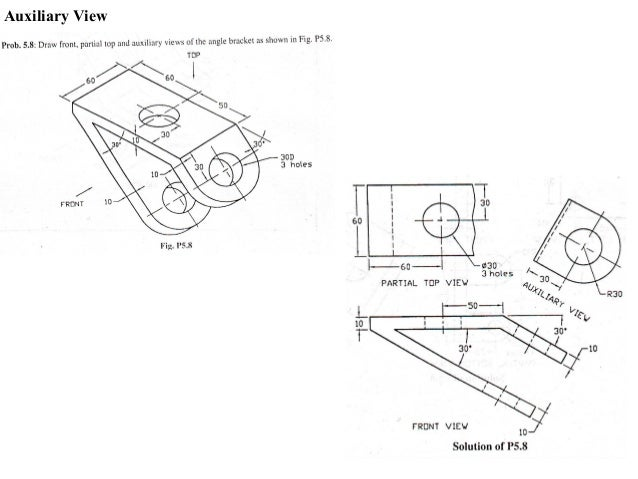 basic mechanical engineering drawing
