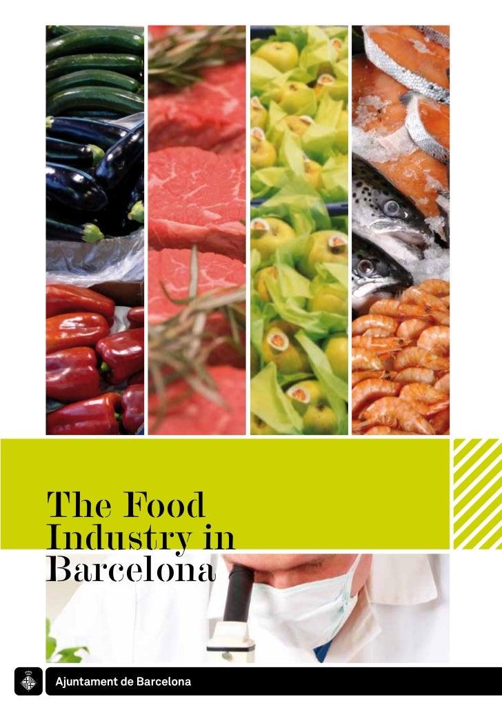 The FoodIndustry inBarcelona