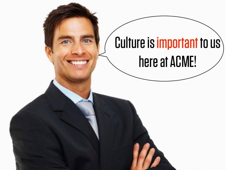 We're growing but we to us Culture is important still   act hereaatstartup!       like ACME!