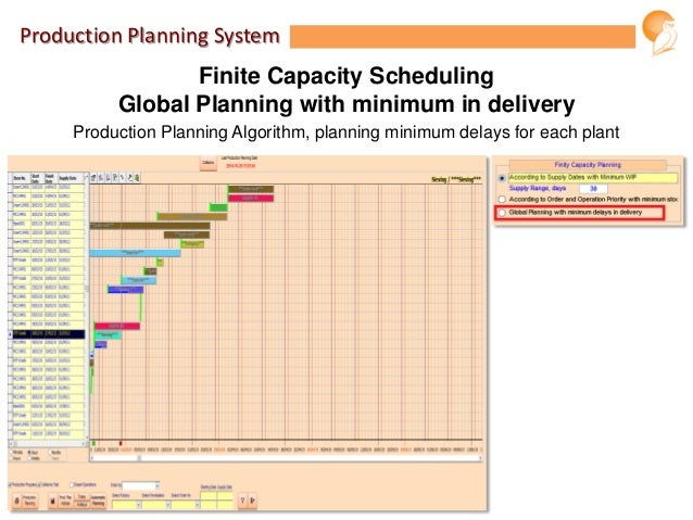 production planning system Manufacturing planning helps manufacturers forecast sales, schedule required   multi-site mrp full regeneration bucketless system master production.