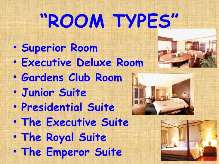 English for Hotel Business: Part 2 Room Types