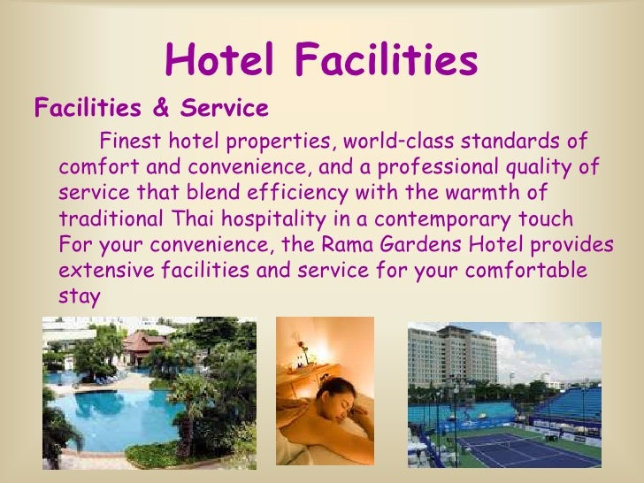 English For Hotel Business Part 3 Facilities