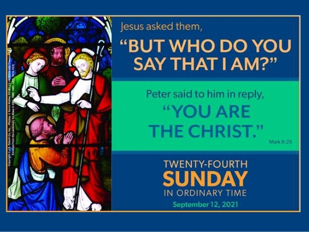 You Are the Christ! Slide 2