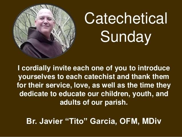 Celebrate Catechetical Sunday Slide 2
