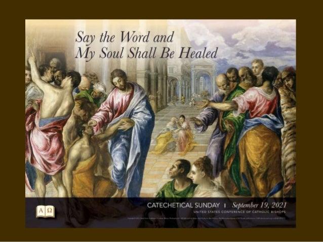 Celebrate Catechetical Sunday Slide 3