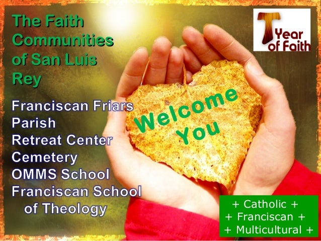 The FaithCommunitiesof San LuisRey                   m e                  co                el u              W           ...