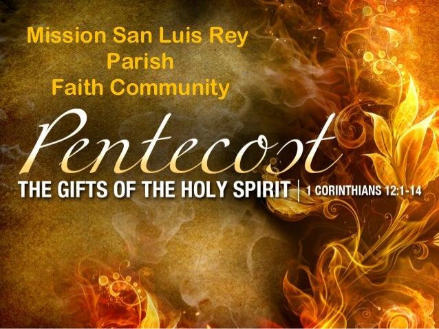 Mission San Luis Rey Parish Faith Community