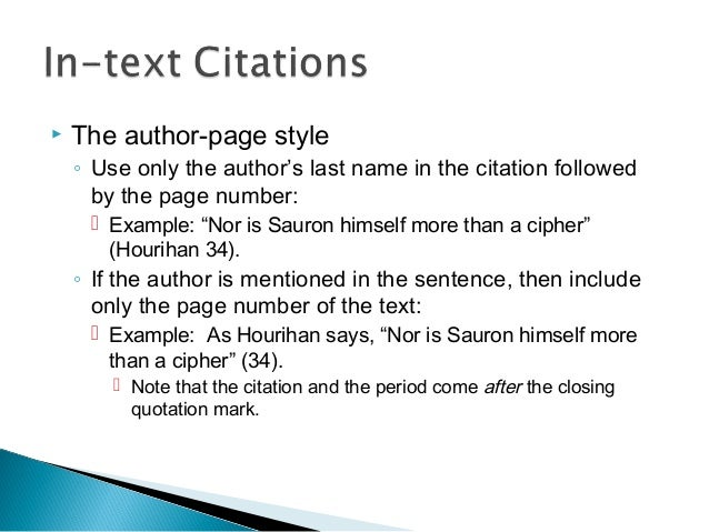 English Quotations And Citations