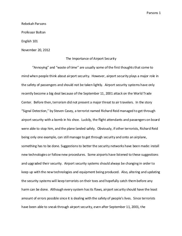 Airport managemen research papers