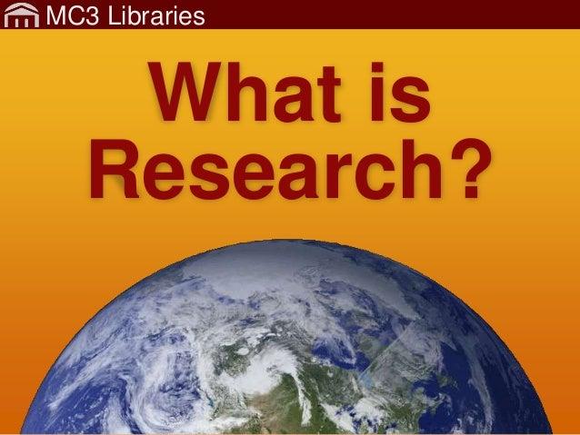 MC3Lib-Research-1-GettingStartedKeywords Slide 2