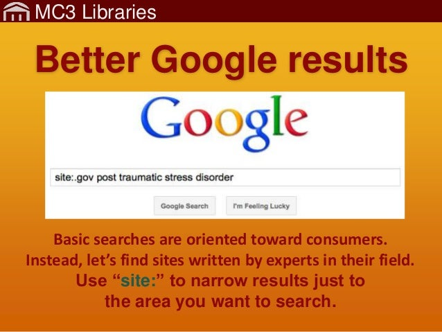 MC3Lib-Research-4-FindWebsites Slide 2