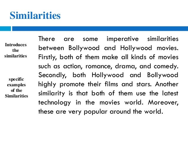 hollywood and bollywood similarities