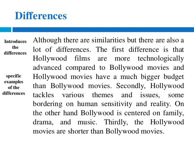 compare and contrast movie to book essay