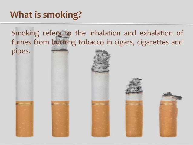 the effect of smoking There is no safe level of tobacco use some of the long-term effects of smoking include yellow teeth, bad breath, a risk of mouth cancer and increased risk of stroke.