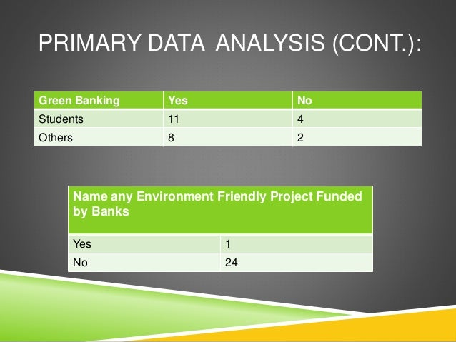 questionnaire of green banking According to a recent survey of microfinance borrowers in in addition to grameen bank, equitas has been another microfinance (a green circle with.