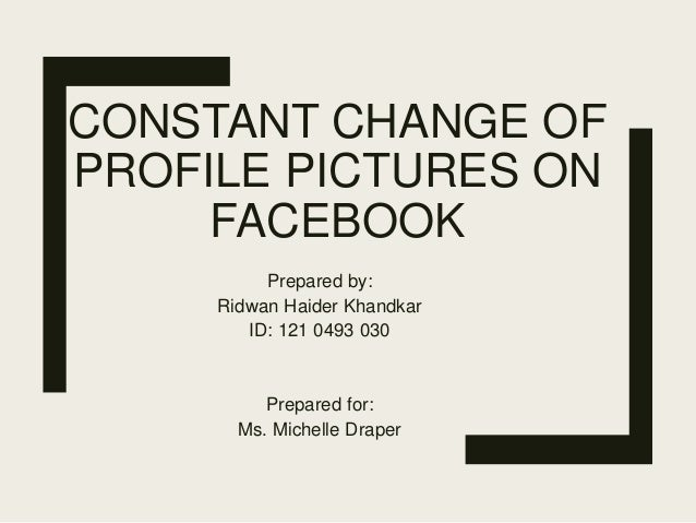 Eng105 change of profile pictures