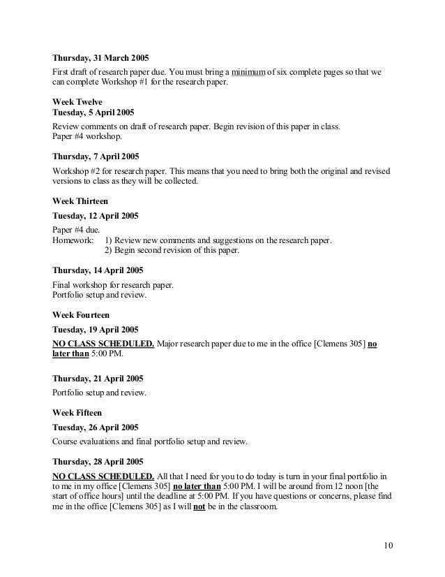 High school research paper syllabus   ipgproje com Yumpu Course Syllabus  Jump to Today  Research jpg