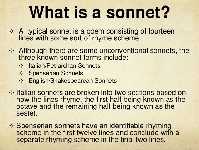 quoting sonnets in an essay Contributors: purdue owl last edited: well-supported essay about poetry this handout offers answers to some common questions about writing about poetry.