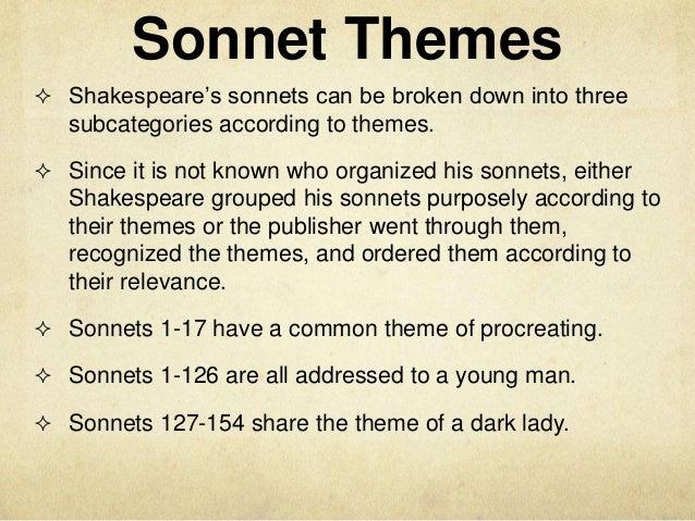 reflection of love in shakespearean sonnets