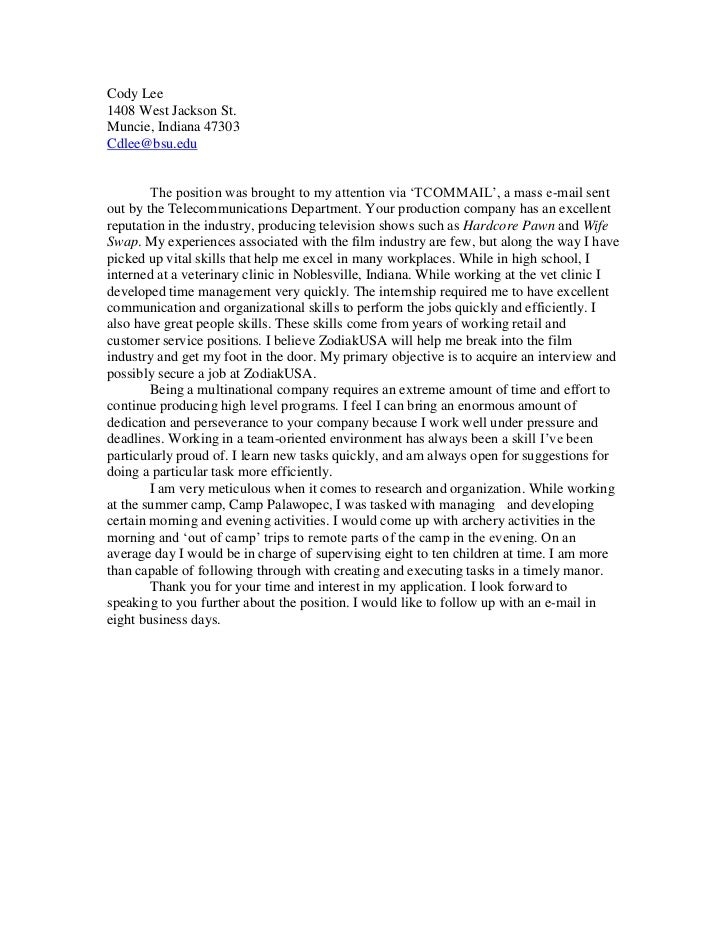cover letter for veterinarian - Cover Letter For Veterinarian