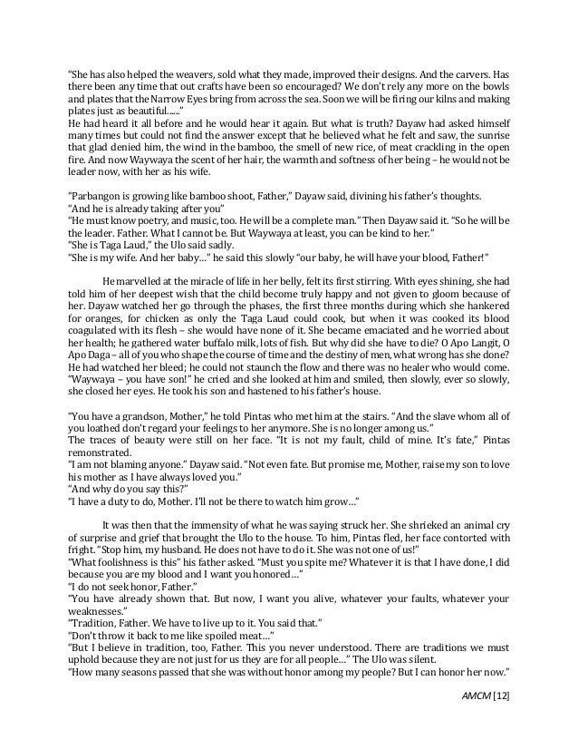 philippine literature short stories Engl 235: introduction to philippine literature -- a compilation of short stories  written by filipino authors.