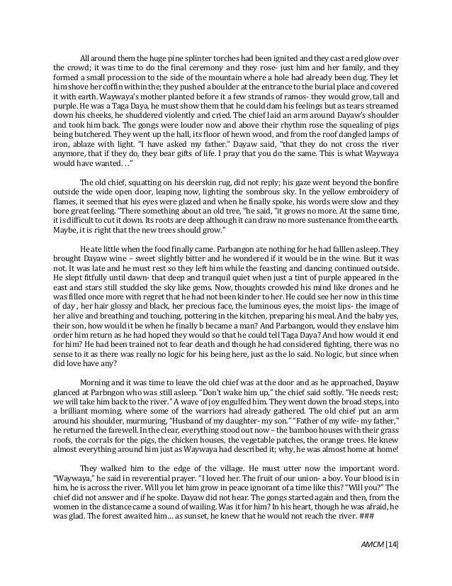 Philippine Literature - Compilation of Short Stories Written by Filip…