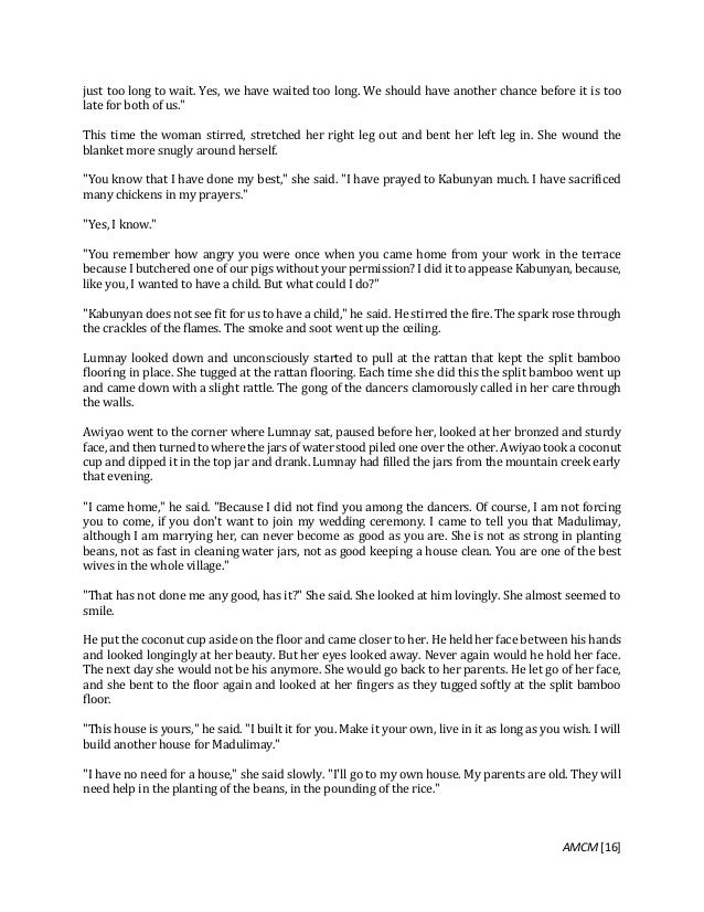 summary of short stories written by filipino authors And that was the third of our short folk tales from the philippines if you enjoyed  them we have  who is the author on 3 stories  are they filipino reply guys.