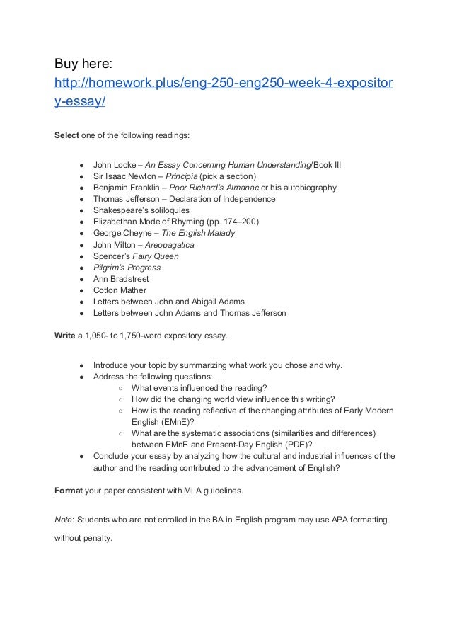 English Essay Topics  What Is An Essay Thesis also Pollution Essay In English Eng  Eng Week  Expository Essay What Is The Thesis Statement In The Essay
