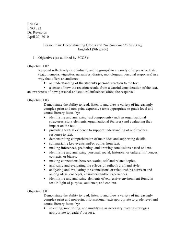 Utopian society essay