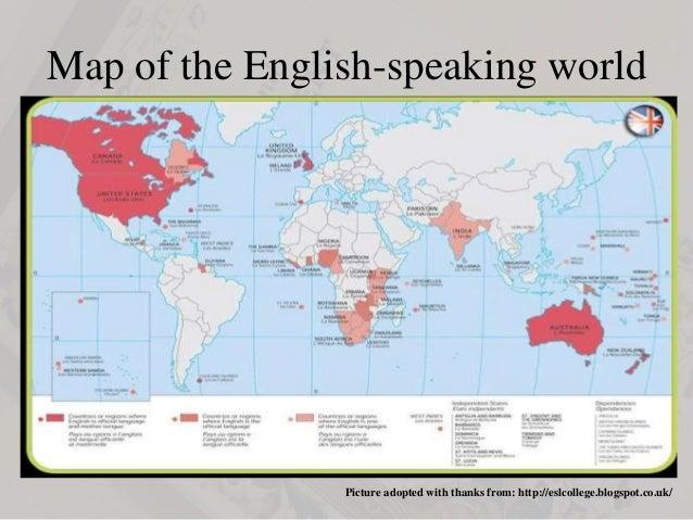 Eng424 2 map of the english speaking world gumiabroncs Choice Image