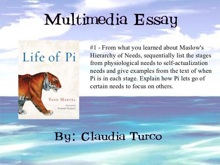 Multimedia essay examples