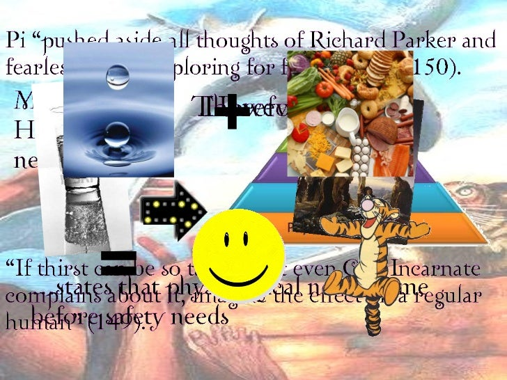 richard parker life of pi essay Life of pi this essay life of pi and other 64,000  pi helps richard parker onto the lifeboat  pi builds a raft out of oars and life jackets so that he can stay .